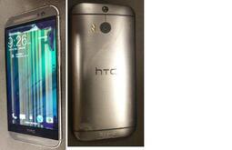 二手HTC M8X 手機16GB(初步測試可以開機但螢幕如圖當測試報帳品零件機)