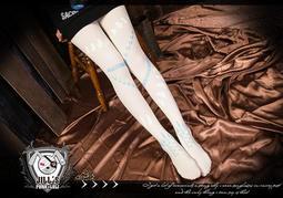 Oo吉兒oO蘿莉塔spank超人氣卡通風彈性褲襪~飢餓遊戲童話 lolita 白【J1A013W】