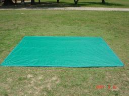 【SAMCAMP 噴火龍】台灣製造 ㊣ 帳篷PE防潮地布(地墊) - 尺寸:240cm*290cm