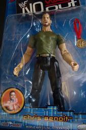 2001 JAKKS 美職摔角 WWF NO WAY OUT 2 CHRIS BENOIT 克里斯 班瓦  富貴玩具店