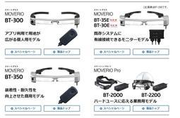全新 EPSON Moverio BT-35E AR  3D智慧眼鏡