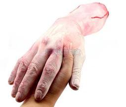 新奇屋【W770006】萬聖節 高質量 仿真 假斷手(大號-左右手)假手 手臂 搞怪/惡搞/尾牙/變裝/遊行/COS