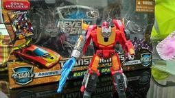 變形金剛 Transformers 經典 洛廸文 合體包(可加購領導模塊(矩陣)、說明書、漫畫)