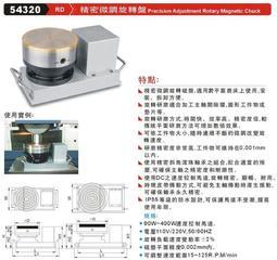 精密微調旋轉盤 RD 54320 價格請來電或留言洽詢