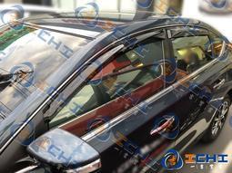 台製|14-18年 Sentra B17 原廠型 晴雨窗 / 工廠直營 sentra晴雨窗 sentra 晴雨窗 原廠