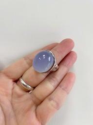 天然紫玉髓戒指