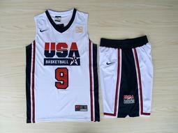 NBA2018全明星賽球衣 美國夢幻隊 Michael Jordan麥可·喬丹 Curry Durant 湯普森