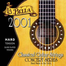 §恩心樂器批發§ La Bella 2001H Concert 古典吉他弦 尼龍弦 高張力 美國製造 公司貨原廠包裝
