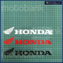 [MOTOBANK]HONDA 一對 防水 機車貼紙 車身貼 J00122
