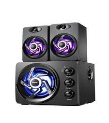 『開立發票』賽達D209 3D環繞木質2.1聲道音箱 高低可調節 電腦音箱 重低音喇叭
