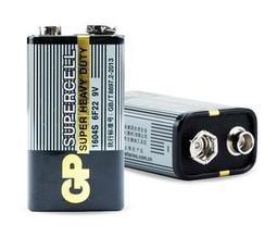 買4送1 GP超霸9V方型電池 模型玩具 電表 飛機 防盜器 遙控器 擴音器用 四角電池 方電池 一次性不可充電9V電池