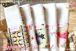 SweetTouch甜蜜接觸布工坊~摺疊型有機棉布護墊6件組(可搭配月事杯使用)6件組合