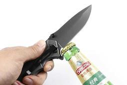 F50快開折刀 折疊刀 摺刀 摺疊刀 彈簧刀 跳刀 露營刀 戶外刀 刀具 小刀 貝爾刀 求生刀 水果刀 軍刀 刺刀 甩刀