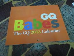 (知識通2B13B)  GQ BABES THE GQ 2013 CALENDAR