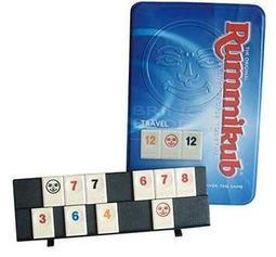 [JOOL桌遊][原價780] 拉密數字牌鐵盒旅行版 Rummikub 德國桌上遊戲 Board Game