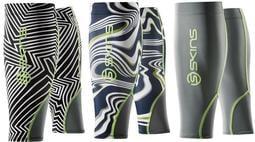 火星人} XS、S、M 號 SKINS Compression MX 排汗漸進式壓縮小腿套