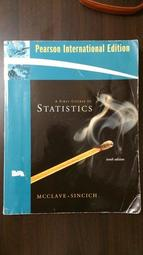 《A First Course in Statistics 10/e》ISBN:0132363437│Prentice Hall│James T. McClave │七成新 少許筆記