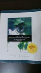 《Management Information Systems for the Information Age 7/e》ISBN:0071287965│Haag, Cummings│六成新 有筆記