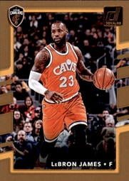2017-18 Donruss #27 LeBron James 騎士隊