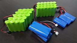 大容量 充電電池 鋰電池  電池 雙鷹 匯納 挖土機電池 4.8V   7.4v  7.2V