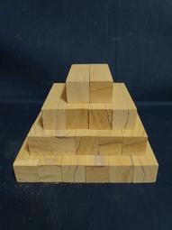 台灣檜木 車筆材料 四方檜木條 2*2*10cm