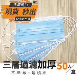 ⚡️【CE歐盟認證】台灣現貨 刷卡分期 三層口罩熔噴布 口罩 防塵口罩 防液體 一次性防護口罩 防飛沫