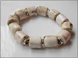 【雅之賞 佛教 藏傳文物】特賣*尼泊爾老硨磲12.5-13.5mm手珠~800016