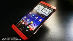 HTC ONE E8 雙喇叭 雙鏡頭 紅色機身 M8Sx