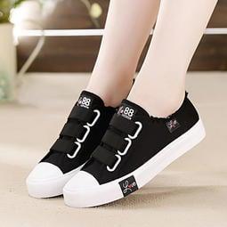 (現貨 附發票)韓版透氣舒適休閒鞋 帆布鞋 女鞋 運動鞋子 平底鞋 小白鞋 編號K563愛