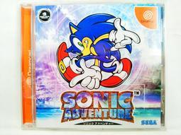 【奇奇怪界】SEGA Dreamcast(DC) 音速小子大冒險 SONIC ADVENTURE 有側標書齊