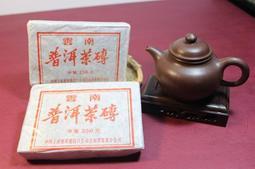 逸香~中茶廠 1996年外銷參香普洱熟茶磚  250克