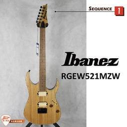 【爵士樂器IBANEZ旗艦店】原廠公司貨保固免運 Ibanez RGEW521MZW-NTF 啞光原木色 電吉他