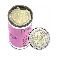 【幣】2005 EURO 西班牙國寶唐吉軻德400周年 2歐元紀念幣 --- 25枚1捲