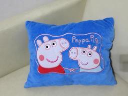 Q1788佩佩豬兩用枕(小抱枕及布偶).二手