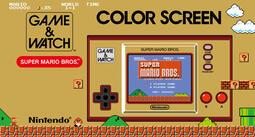 ☆VoVo☆【預購】任天堂《GAME&WATCH 超級瑪利歐》亞英版 復刻遊戲 懷舊遊戲,發售日延期