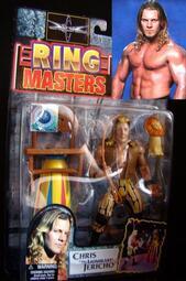 1999 美職摔角 WCW RING MASTERS CHRIS JERICHO  克里斯 傑利可 富貴玩具店
