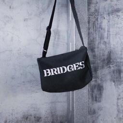 死亡擱淺 Death Stranding 布橋斯 BRIDGES 台灣 黑斜肩背包 購物袋