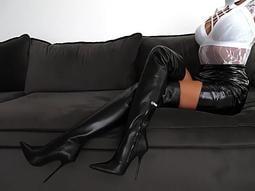 【明良精品】PCO-D171~3時尚尖頭跟高10.5~12公分/過膝65~78cm長筒靴(製作鞋碼:35~52碼)