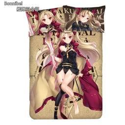 ★艦隊抱枕★ Fate/Grand Order 埃列什基伽勒 艾蕾 動漫床單 四件套 枕套 被套 床罩 客製化 JCK