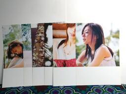 陳綺貞 寫真卡小海報 2005精選輯預購贈品 二手