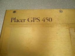 二手PLACER GPS 450導航主機(當測試報帳品)