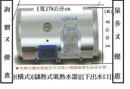 台南.高雄.屏東日立電 15 永康15【EH-15加侖[套房][橫掛式](指針/標準型)