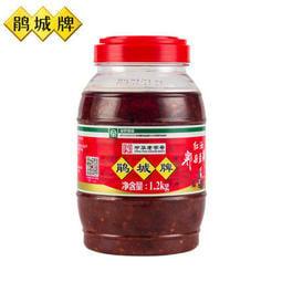 鵑城牌紅油郫縣豆瓣 1200g四川豆瓣醬回鍋肉炒菜用川菜調料調味品