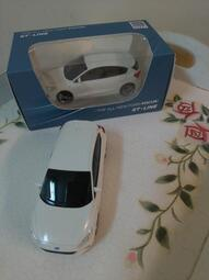 THE ALL-NEW FORD FOCUS 白 1:43模型車