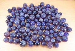 [阿輝小舖]-精選[ 烏拉圭 ]天然[ 小顆-紫水晶球 ]一袋[ 總重1250g ]!!! (編號:F0308)