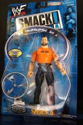 2000 美職摔角 WWF SMACK DOWN 6  TAZZ  泰茲 WITH 風扇  富貴玩具店