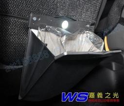 計程車必備 後座LED夾式汽車垃圾桶 車用置物袋 磁扣垃圾袋 防水垃圾袋 收納袋 掛式垃圾桶 附垃圾袋