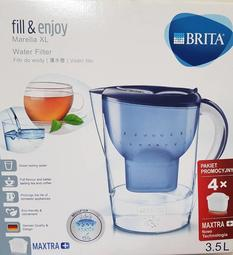 BRITA Marella 馬利拉水壺 3.5公升 含MAXTRA+ brita濾芯X4