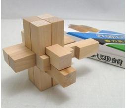 盒裝九根魯班鎖內帶說明書地攤熱賣批發成人兒童挑戰智力玩具解鎖