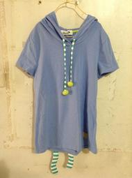 《88元二手衣賣場》Dailo  連帽長版T恤 (胸39長55) V024